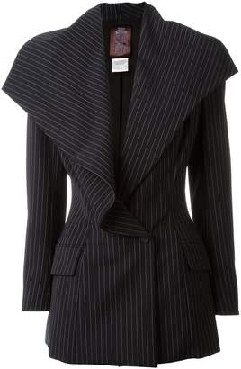 John Galliano Pre-Owned pinstripe jacket