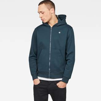 G Star Core Hooded Zip Sweater