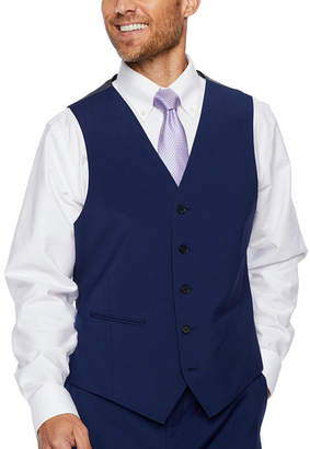 Claiborne Classic Fit Stretch Suit Vest