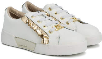 Michael Kors Kids ruffle detail sneakers