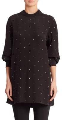Calvin Klein Collection Drop Shoulder Top