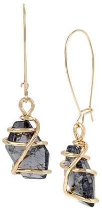 Robert Lee Morris Soho Caged Drop Earrings