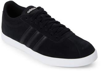 adidas Black & Grey NEO Courtset Low-Top Sneakers