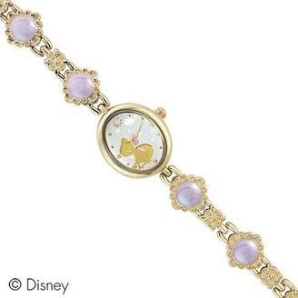 Disney (ディズニー) - Disney ディズニー ラプンツェル フラワーエポキシブレスウォッチ 人気の可愛い時計 パープル WD-F03-RZ