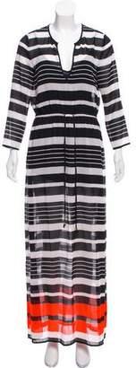 MICHAEL Michael Kors Long Sleeve Maxi Dress