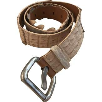 Ermanno Scervino Multicolour Leather Belts