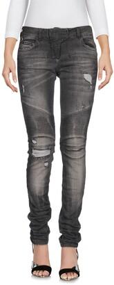 Philipp Plein Denim pants - Item 42680128QS