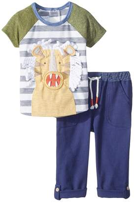 Mud Pie Tiger Two-Piece Pants Set Boy's Suits Sets