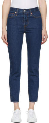 Levis Blue Wedgie Fit Jeans