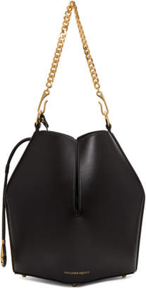 Alexander McQueen Black Chain Bucket Bag