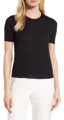 Women's Boss Floride Wool Pullover $195 thestylecure.com