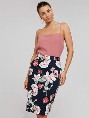 Portmans Australia Spiced Coral Pencil Skirt