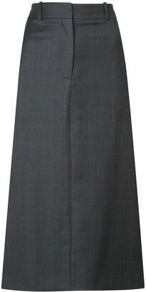 Calvin Klein midi straight skirt