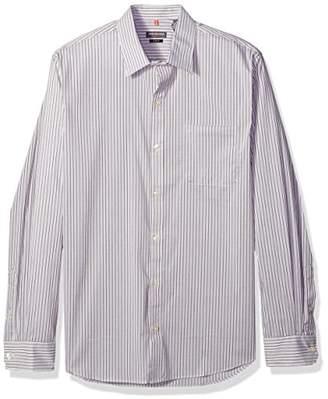 Van Heusen Men's Traveler Stretch Non Iron Long Sleeve Shirt