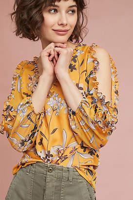 Shoshanna Silk Floral Blouse