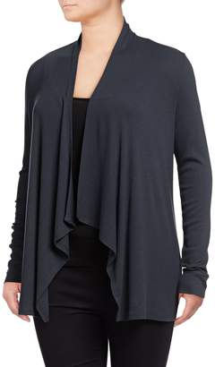 INC International Concepts Plus Open Front Cardigan