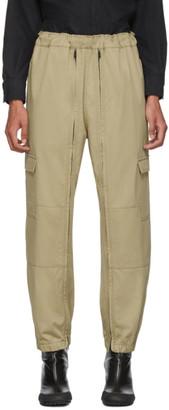 BEIGE Random Identities Versatile Cargo Pants
