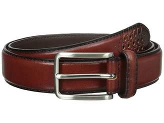Stacy Adams 32mm Full Grain Leather Top w/ All Leather Lining Cross Stitch Perforated Tip