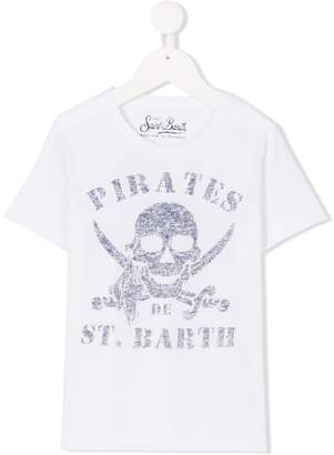 MC2 Saint Barth Kids pirate skull T-shirt
