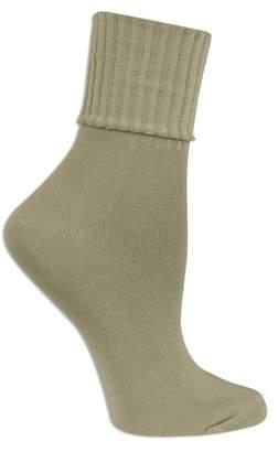 No Boundaries Womens Turn Cuff Socks