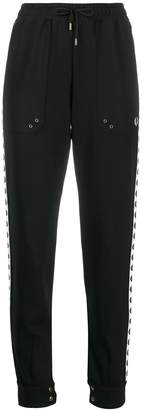 Fred Perry embroidered logo trousers