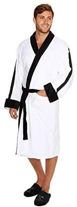 Star Wars Official Stormtrooper Embossed Dressing Gown Bathrobe