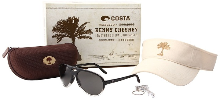 Costa - Kenny Chesney Limited Run Grand Catalina 400 Plastic (Black Fade/400 Plastic Lens) - Eyewear