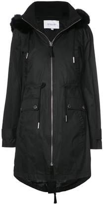 Derek Lam 10 Crosby Fox Trimmed Anorak With Detachable Faux Fur Vest