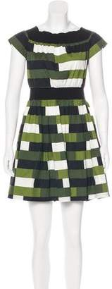 Prada Printed Mini Dress