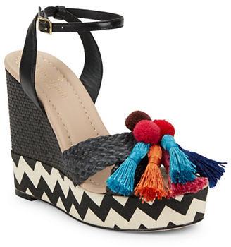Kate SpadeKate Spade New York Delancey Woven Platform Sandals