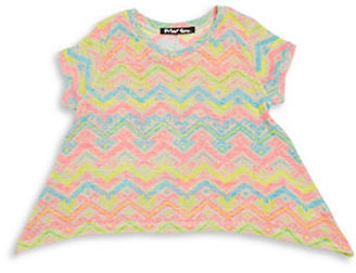 Planet Gold Girls 7-16 Asymmetric Tribal Knit Top $24 thestylecure.com