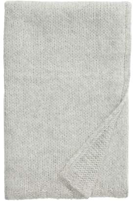 Nordstrom Signature Chunky Knit Alpaca Blend Throw Blanket