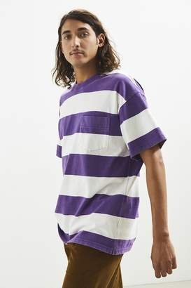 Urban Outfitters Horizontal Bar Stripe Pocket Tee