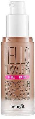 Benefit Cosmetics 'Hello Flawless' Oxygen Wow Liquid Foundation 'I'm Hopelessly Hot' Hazelnut 1 oz by CoCo-Shop