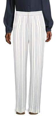 Frame Striped Wide Leg Pants