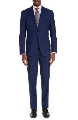Canali Sienna Classic Fit Stripe Wool Suit