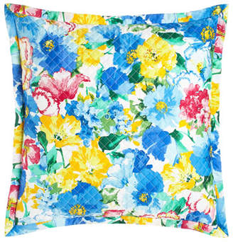Ralph Lauren Home European Quilted Ashlyn Floral Sham