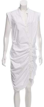 Veronica Beard ruched Button-Up Dress