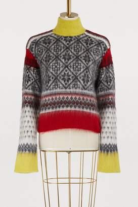 N°21 N 21 Wool and mohair sweater