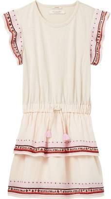 Scotch & Soda Embroidered Jersey Dress