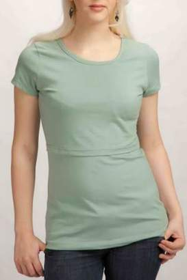 momzelle Round-Neck Nursing Shirt
