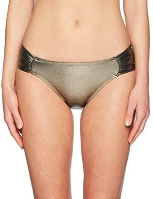 LaBlanca La Blanca Women's Side Shirred Hipster Bikini Swimsuit Bottom