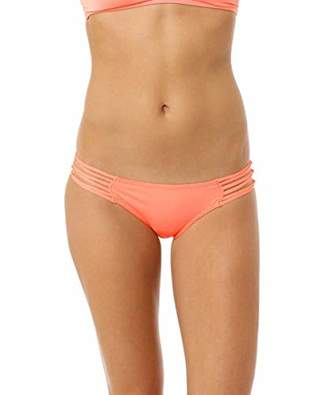 O'Neill Women's Salt Water Solids Knotted Tab Bikini Bottom