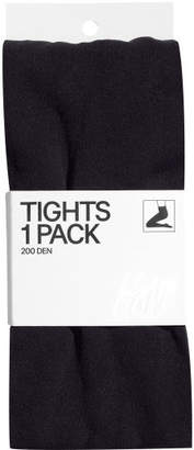 H&M Opaque Tights - Black