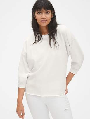 Gap Vintage Soft Balloon Sleeve Pullover Sweatshirt