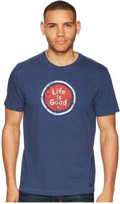 Life is Good LIG Coin Crusher Tee Men's T Shirt