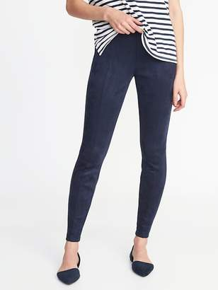 Old Navy High-Rise Stevie Sueded Ponte-Knit Pants for Women