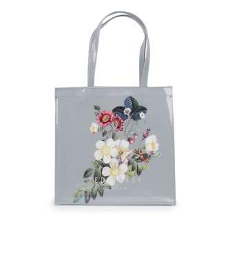 Ted Baker Oracle Print Large Pv Bag Colour: GREY, Size: One Size