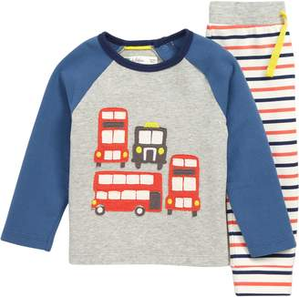Boden Mini Fun Applique Shirt & Pants Set