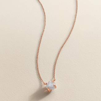 Lauren Conrad Blue Quartz Necklace